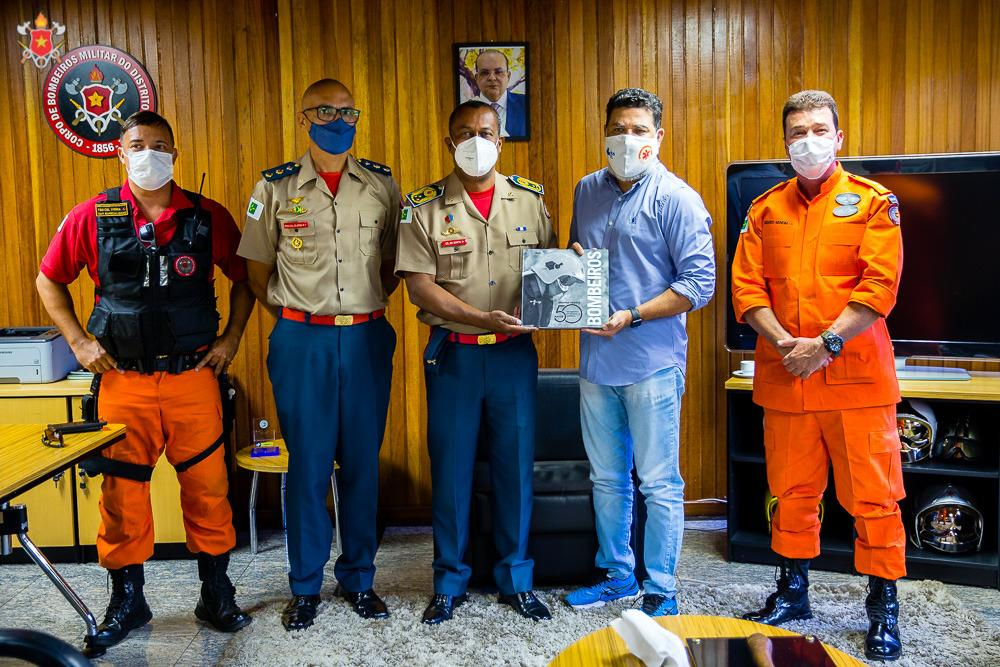 Visita de cortesia do Deputado Distrital Jorge Vianna