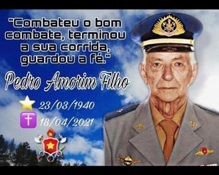 Nota de falecimento – Pedro Amorim Filho, Cabo 20