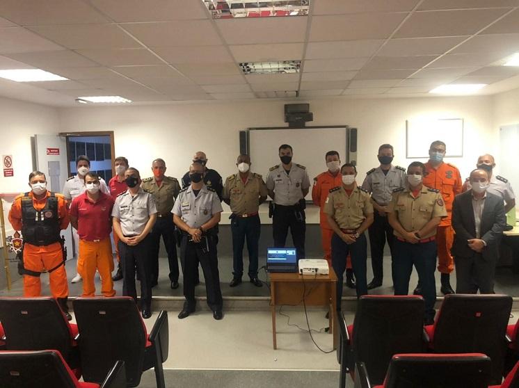 Comandante-Geral da PMDF visita Academia de Bombeiros Militar do Distrito Federal