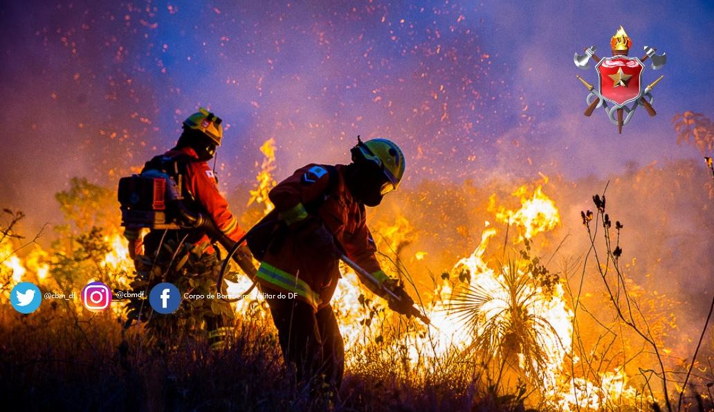 Boletim de risco de fogo – 28 de abril a 5 de maio