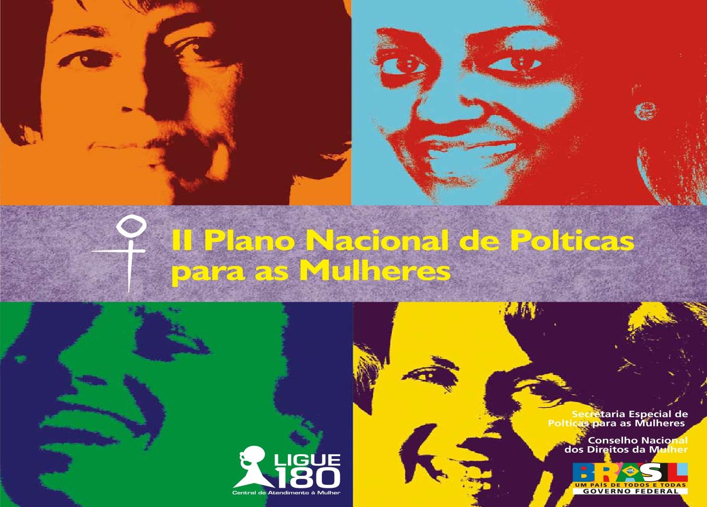 II Plano Distrital de Políticas para Mulheres