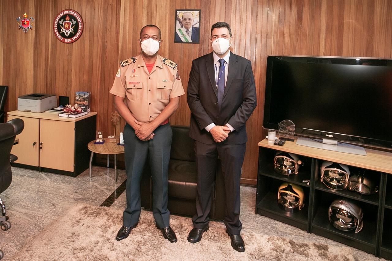 Comandante-Geral alinha estratégias com Subsecretário de Operações Integradas