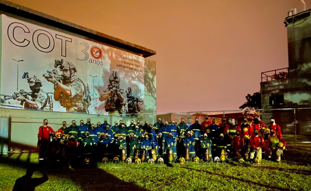 8º COI realiza Exercício de Treinamento no Centro de Operações Táticas da Polícia Federal