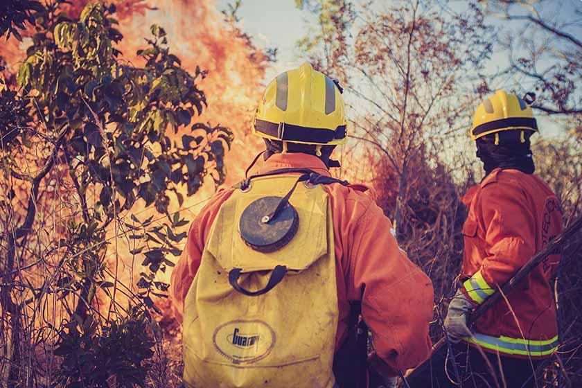 Boletim de risco de fogo – 6 a 13 de maio