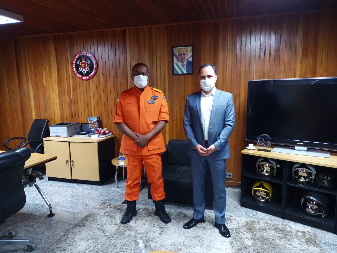Visita do Secretário de Estado Do Governo do Distrito Federal