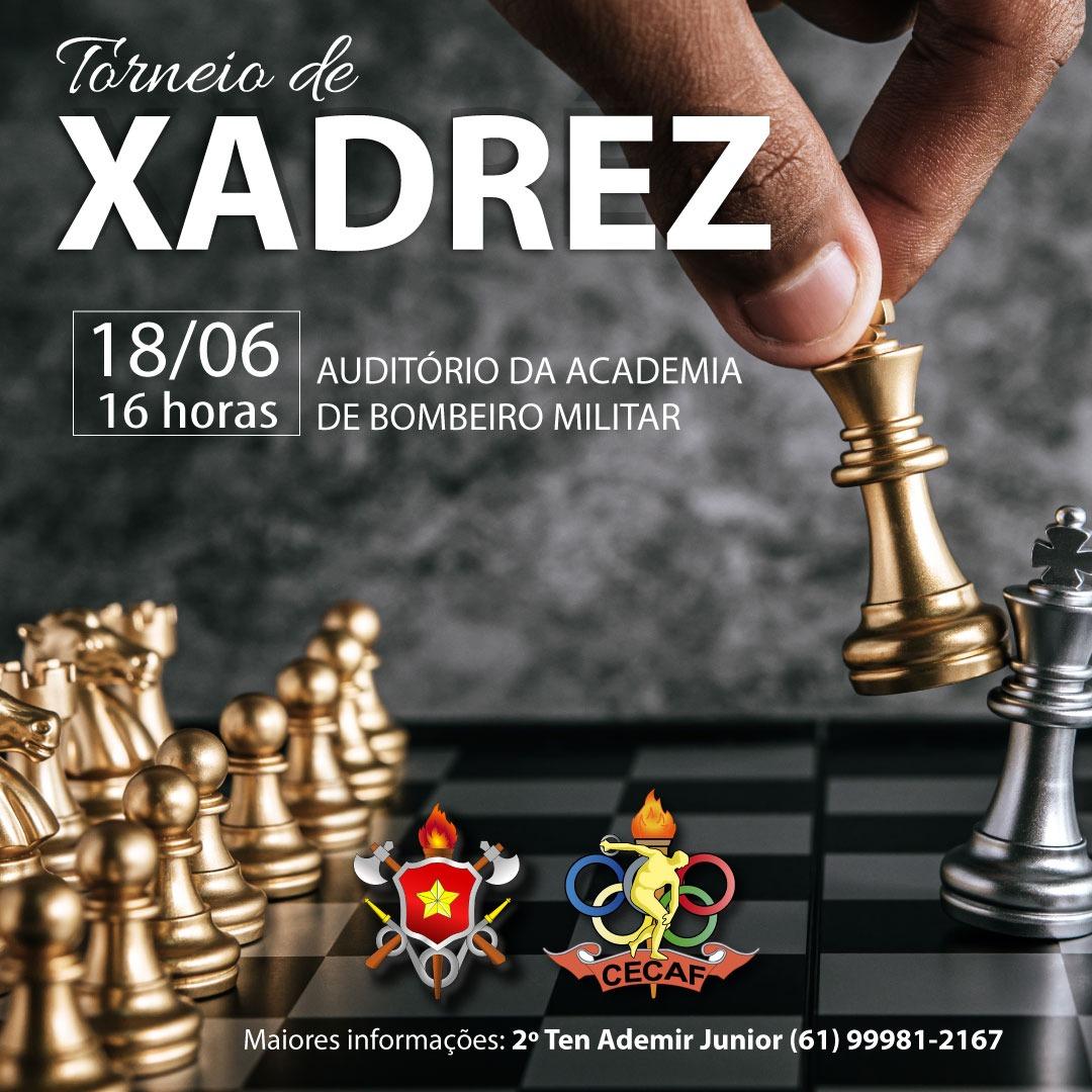 1º Torneio de Xadrez do CBMDF – Ten Lélio Rocha