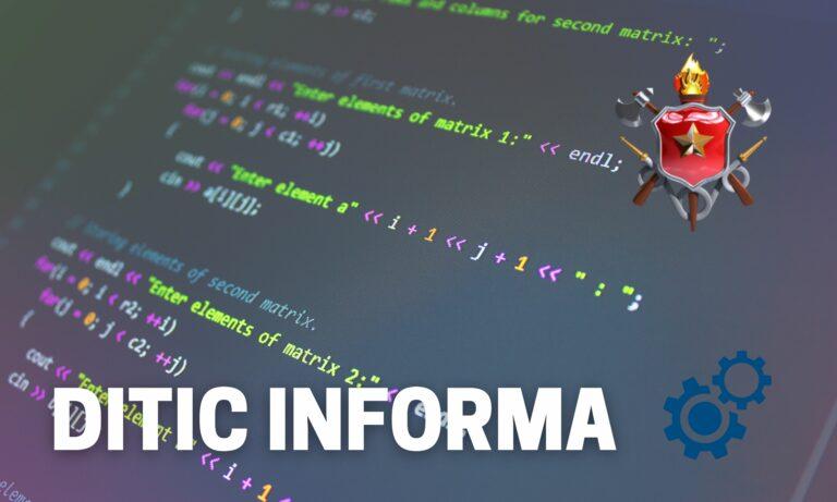 DITIC informa
